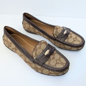 Coach penny loafers size 7.5B